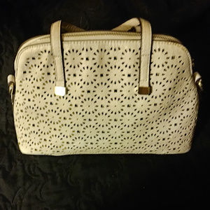 Street Level Dome Satchel Without Crossbody Strap